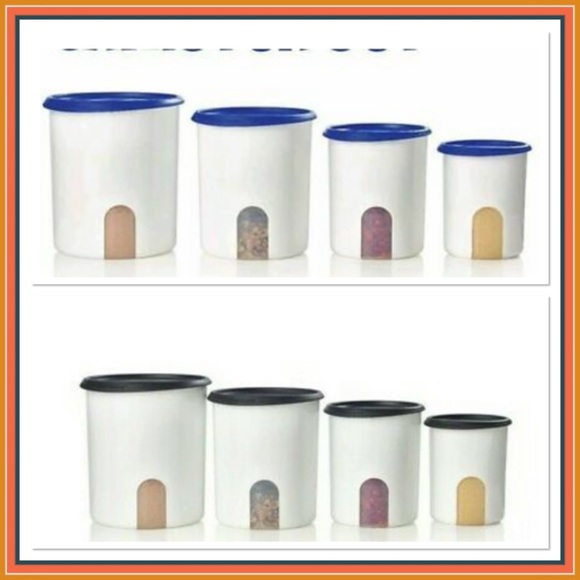 New!!!! Tupperware canister one touch
